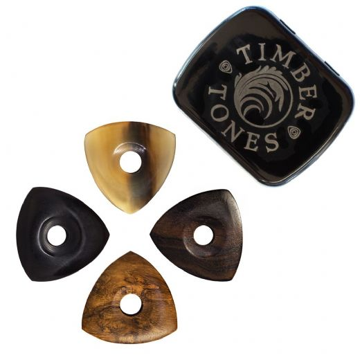 Moon Tones Mixed Tin of 4 Guitar Picks